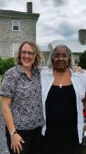 Finally We meet! Sarah & Joyceann At Harewood, WV