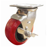 507E Series - Stainless Steel, Corrosive Free Castor Heavy Industrial Range