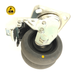 507 Series - Grey Conductive (ESD) Heavy Duty Castors