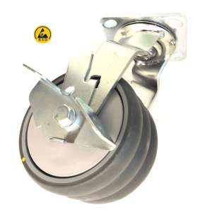 508 Series - Grey Conductive (ESD) Heavy Duty Castors
