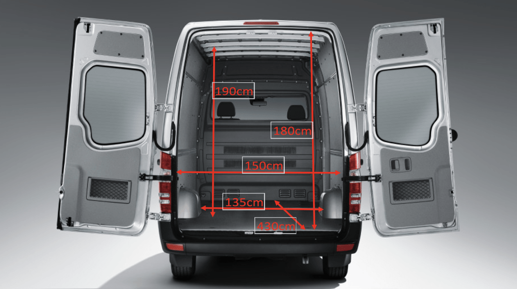 Van measurements