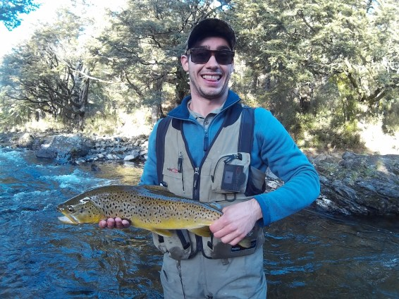 A well earned solid brown!
