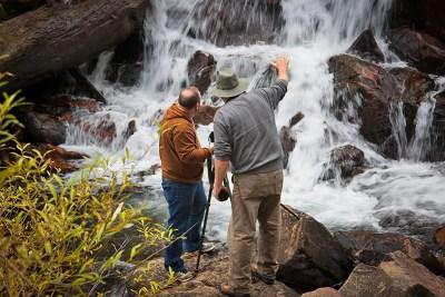 Waterfall techniques - Eastern Sierra