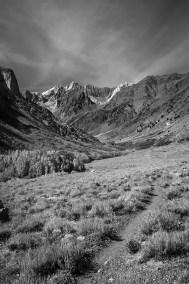 Mcgee creek mountain valley view