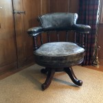 Antique English Desk Chair The Local Vault