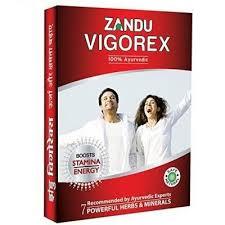 Zandu Vigorex Ayurvedic Daily Energizer - 20 capsules