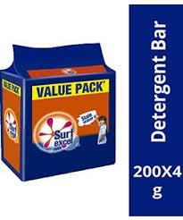 SurfExcel Detergent Cake 3+1 200gram