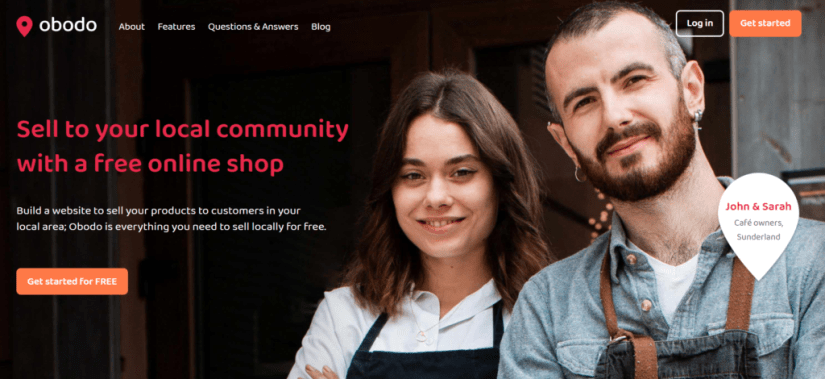 Free ecommerce for local businesses