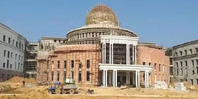 सदन को लोकतंत्र का मंदिर मानने वालों ने ही की विधानसभा निर्माण में गड़बड़ी