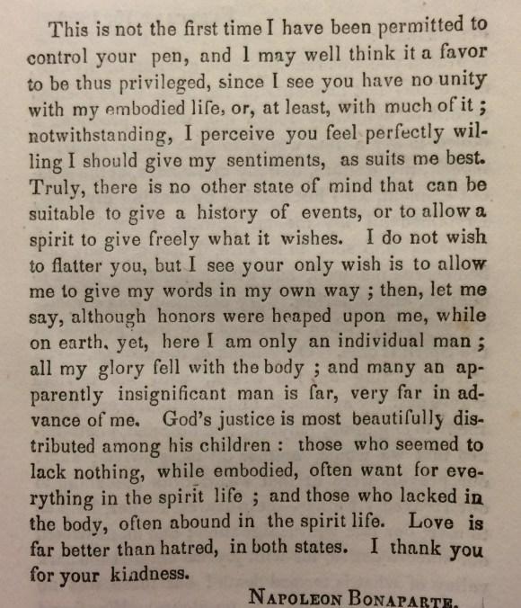 From Napoleon Bonaparte © British Library