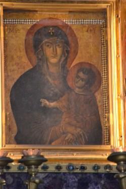 The Salus Populi Romani in Santa Maria Maggiore, Rome.