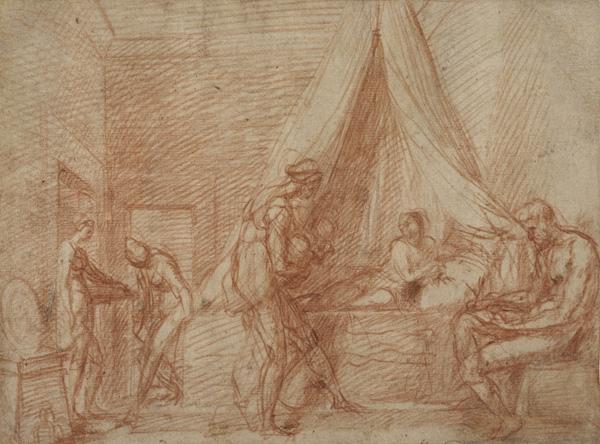 The Birth of Saint John the Baptist (Florence, Chiostro della scala)