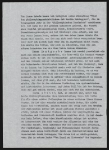 König's report on Löwith. By permission of Universitätsarchiv Göttingen