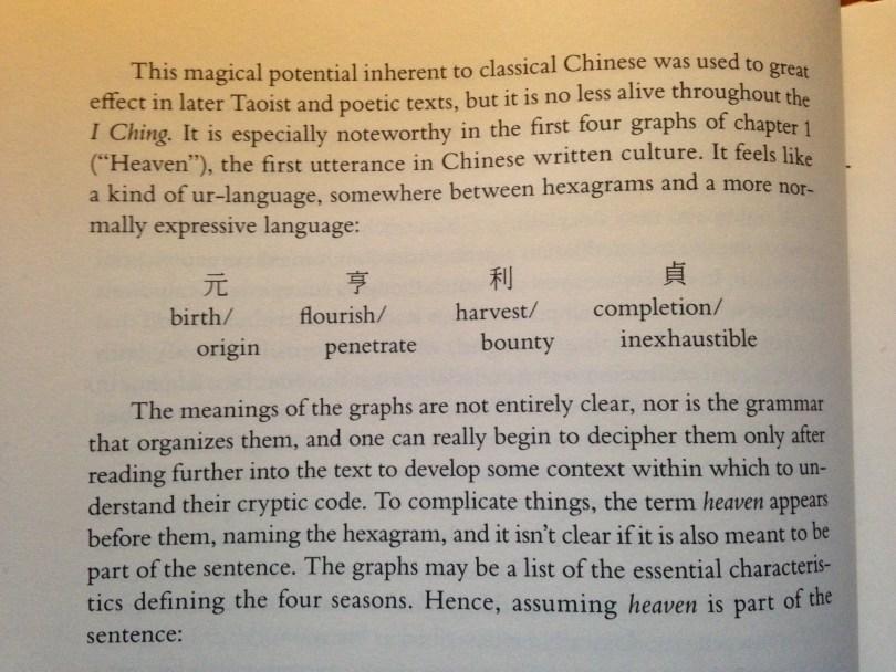 Hinton, David. I Ching: The Book of Change. New York: Farrar, Strauss, and Giroux, 2015, xvi.