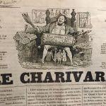 Fig 1 Le Charivari 74 p1 Sixième Année March 16 1837 J.J. Grandville(1)