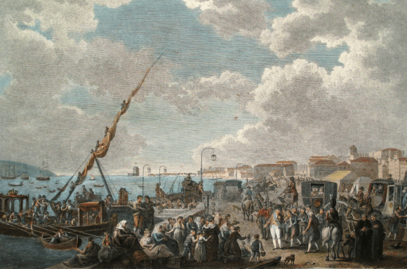 Departure_of_H.R.H._the_Prince_Regent_of_Portugal_for_the_Brazils_(Campaigns_of_the_British_Army_in_Portugal,_London,_1812)_-_Henry_L'Evêque,_F._Bartollozzi