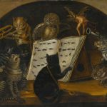 Lombard_School_c1700_Cats_being_instructed_In_the_art_of_mouse-catching_by_an_owl