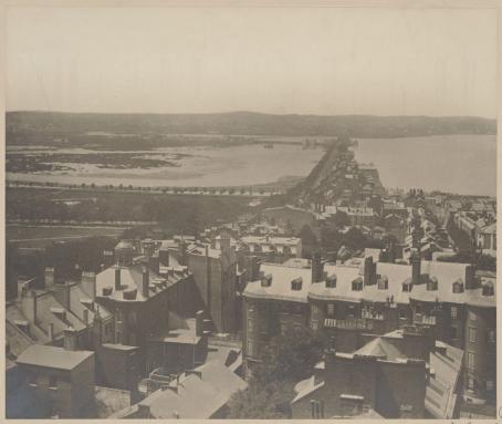 Back bay in 1857