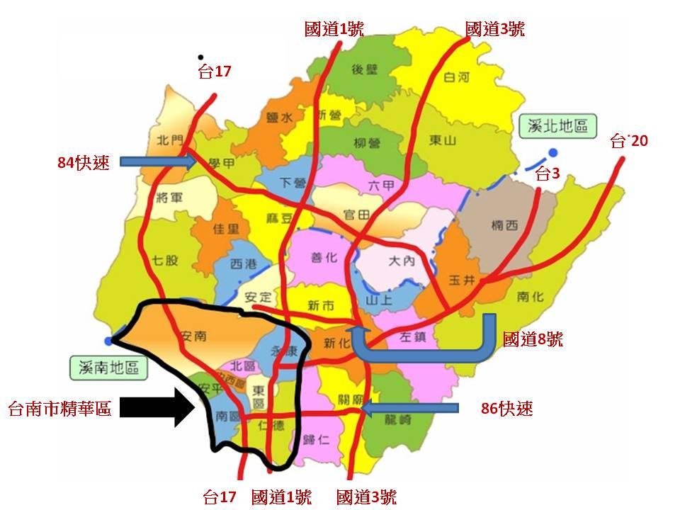 台南景點 地圖