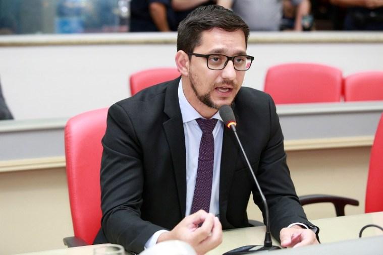 Anderson do Singeperon pede o apoio ao líder do PV no Senado para criar Polícia Penal