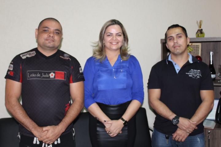 PROJETO LEÃO DE JUDÁ: Vereadora Ada Dantas apoia campeonato em Ariquemes