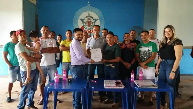 Emenda Parlamentar- Deputado Jesuino participa de solenidade na Associação de Militares de Guajará-Mirim