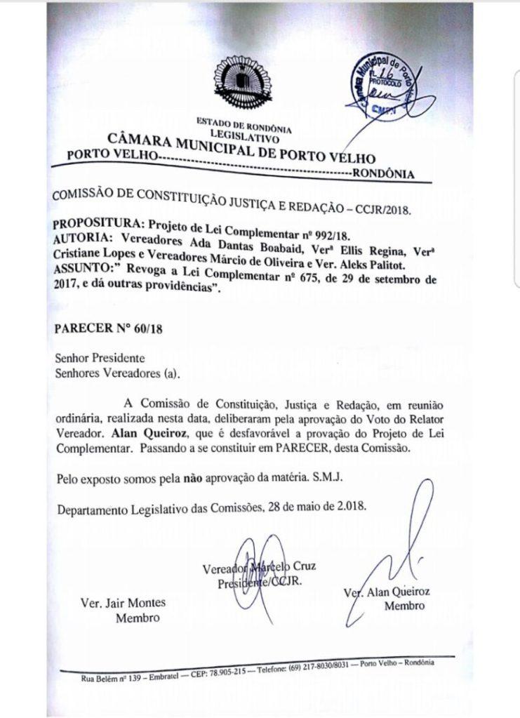 Vereadores Marcelo Cruz e Alan Queiroz votam contra revogação da Taxa de Iluminação Pública