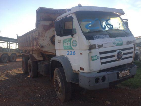 DER fará leilão de sucatas e de veículos em condições de conserto nesta quinta e sexta em Ji-Paraná