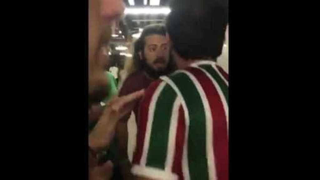 HOSPITALIZADO – Torcida do Fluminense tenta agredir apresentador do SporTV no Maracanã