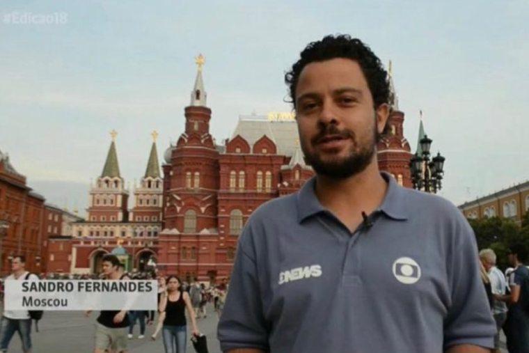 Ao vivo da Rússia, repórter da Globo assume que é gay; veja vídeo