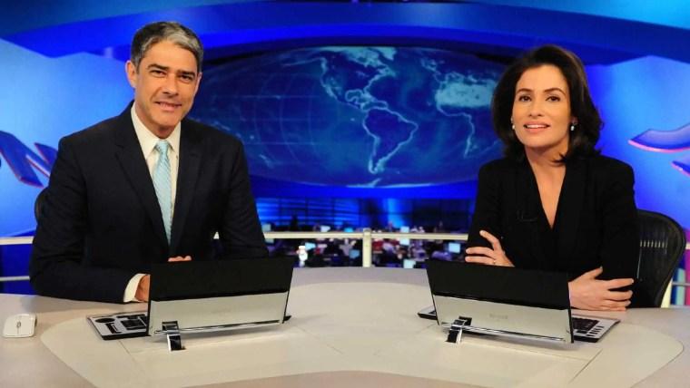 Entenda a diferença salarial entre William Bonner e Renata Vasconcellos