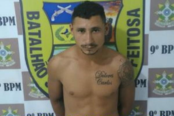 Preso homem acusado de ter atirado em motorista de aplicativo, na zona sul da capital