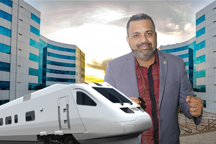 Não é pra rir – Candidato ao Governo de Rondônia promete trem-bala para ligar Porto Velho a Vilhena