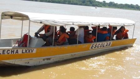 NA CAPITAL – Transporte escolar fluvial está paralisado