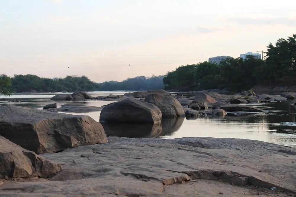 Seca no Rio Machado gera maior queda do nível da água em 14 anos