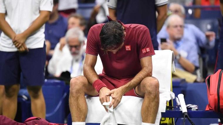 Federer dá adeus ao US Open após ser derrotado pelo 55º do ranking