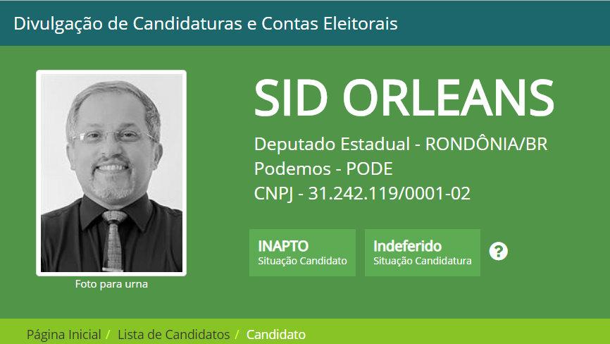 ELEIÇÕES – Jair Montes e Sid Orleans, confira lista completa dos candidatos a deputado estadual indeferidos