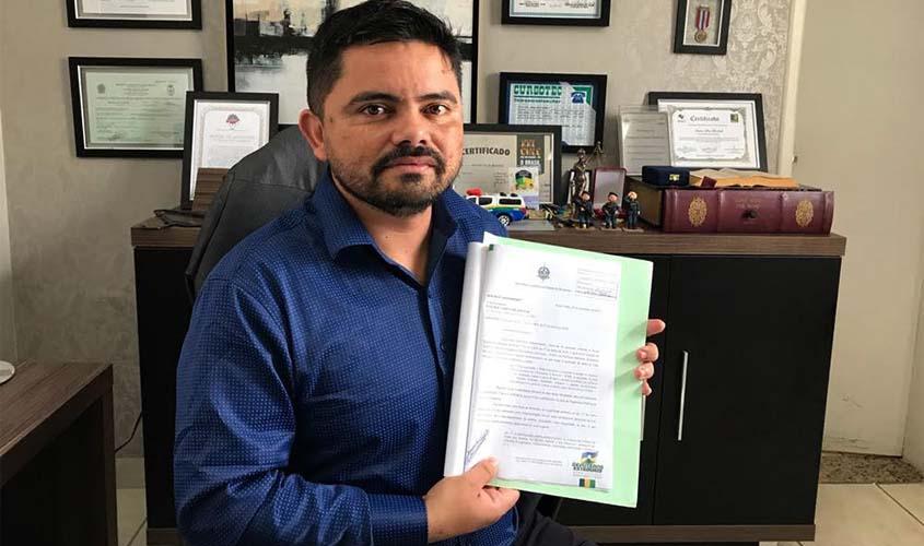 Lei de autoria do deputado Jesuíno Boabaid que penaliza pichadores é promulgada em Rondônia