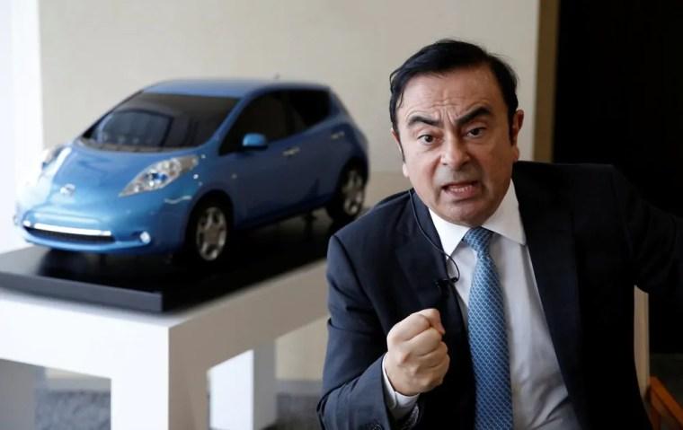 Nascido em Rondônia, dirigente mundial da Nissan, Carlos Ghosn é preso no Japão
