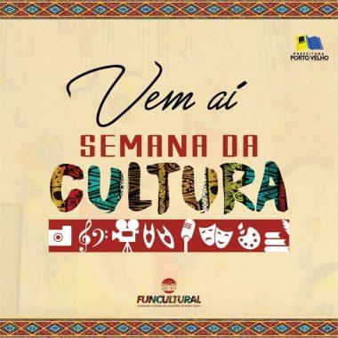 ATRAÇÕES – Semana da Cultura começa nesta segunda (5) e vai até domingo (11)