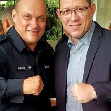 Policiais militares organizam café da manhã para governador eleito