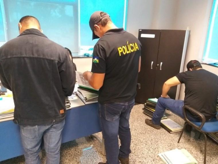 PAU OCO – Polícia cumpre novo mandado de prisão temporária durante Operação