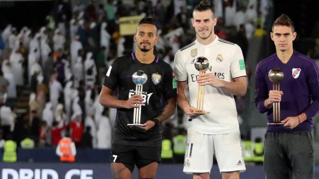 Bale é eleito melhor do Mundial de Clubes; brasileiro é bola de prata