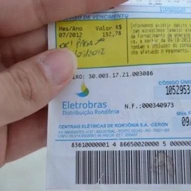 REAJUSTE – Justiça derruba liminar que impedia aumento na conta de luz em Rondônia