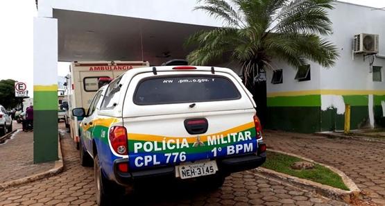 GRAVE – Jovem é baleado durante assalto no centro de Porto Velho