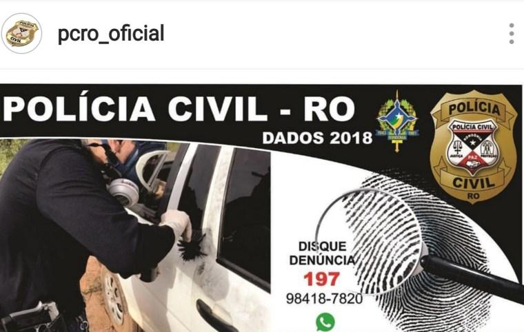 """CADEIA – """"Não confiamos em vermes"""", suspeito é preso por comentário agressivo em perfil oficial da Polícia Civil"""