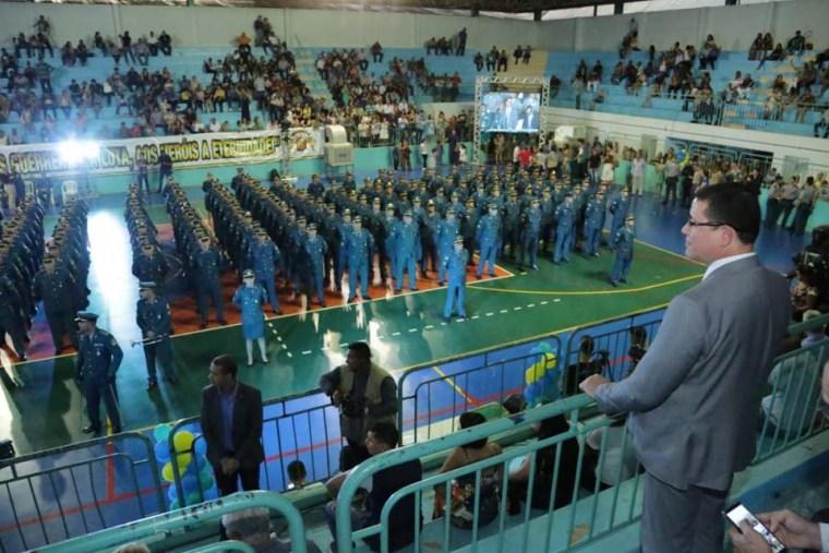 Polícia Militar de Rondônia forma mais de 400 sargentos e governador enaltece dedicação e trabalho da corporação