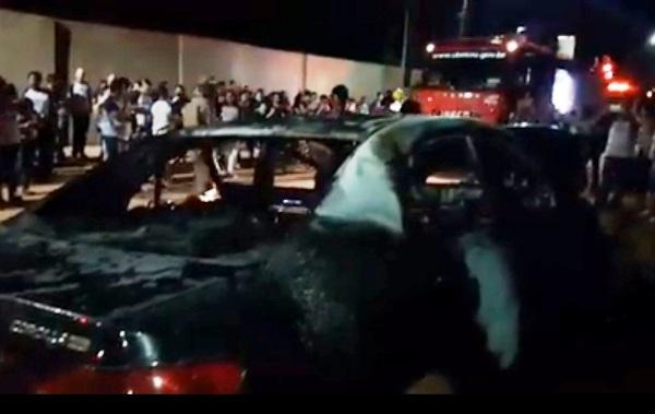 Polícia Civil indicia acusados de atear fogo em veículo de professor na zona Leste