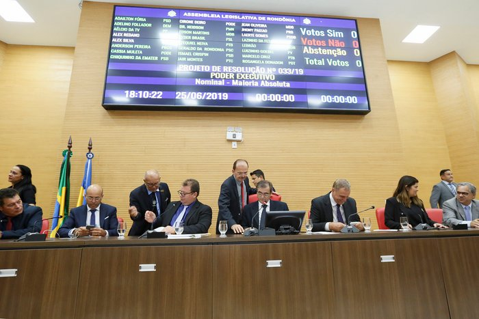Assembleia Legislativa aprova LDO, últimos indicados para diretorias do Governo e entra em recesso