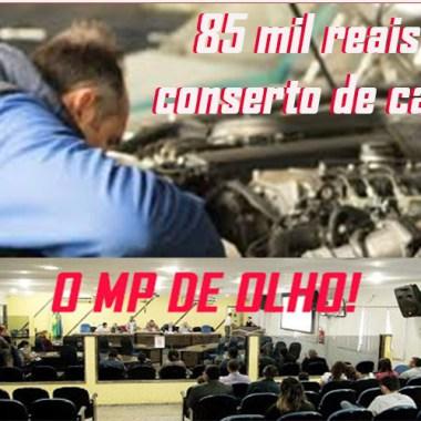 Salários repartidos, notas frias, 85 mil para conserto de carro – MP investigativa vereadores da capital